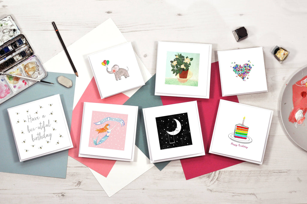 This Greetings Cards Stationery Box Contains A Selection Of 7 Perfect To Say Happy Birthday