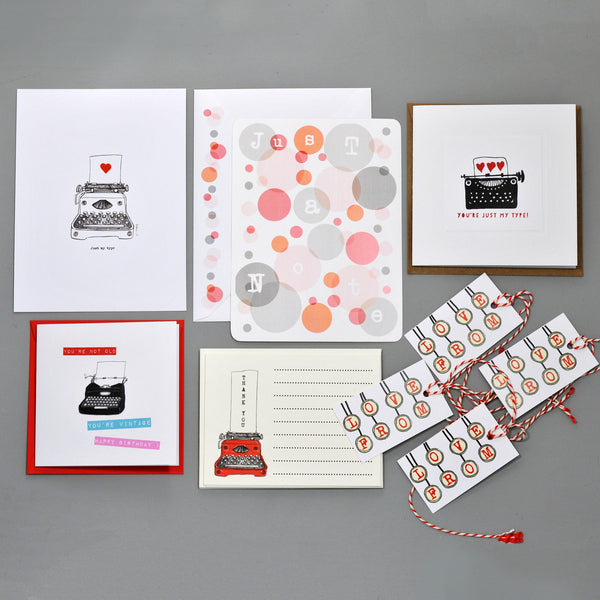 February's Stationery Lover Single Post Box