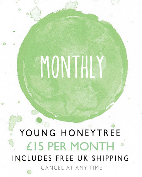 Young HoneyTree Children's Stationery - Monthly Subscription