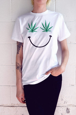 Pot Smiley T-Shirt
