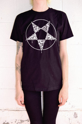 Pizza Pentagram T-Shirt