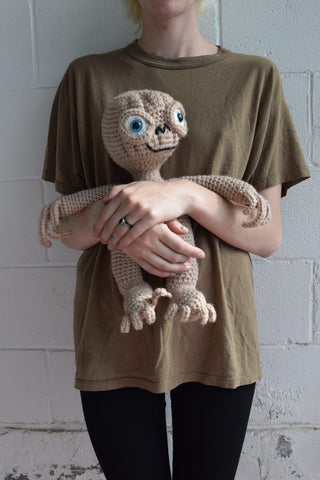 Homemade E.T. Plush Toy