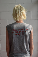 Vintage 1983 Talking Heads Speaking In Tongues Shirt