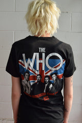 Vintage 1982 The Who North American Tour T-Shirt