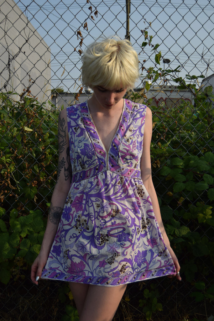 Emilio Pucci For Formfit Rogers Purple Dress and Tunic