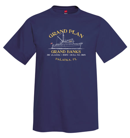 GRAND PLAN Mens Unisex Short Sleeve Shirt