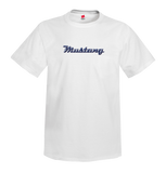 INVENTORY SALE! Mustang Chrome Script T-Shirt