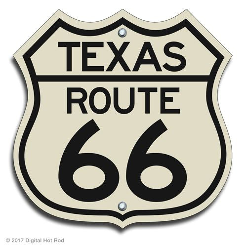 Route 66 Highway Signs