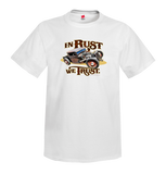 INVENTORY SALE! In Rust We Trust shirts