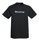 INVENTORY SALE! Mustang Chrome Script Black T-Shirt