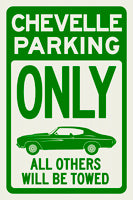 Chevelle Parking Only Sign INVENTORY SALE!