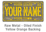 Personalized License Plate - Design