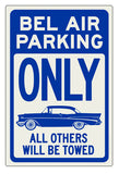 Bel Air Parking Sign