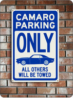 Camaro Parking Sign