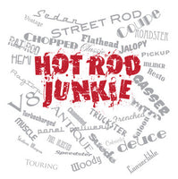 Hot Rod Junkie Shirt - Design