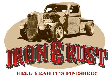 Iron & Rust T-Shirt - Design
