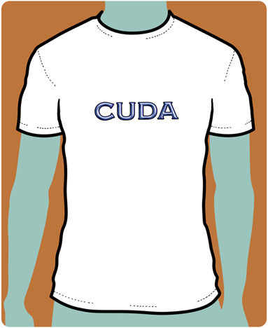 CUDA Chrome T-Shirt