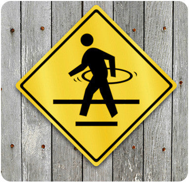 Hula Hoop Crossing Sign