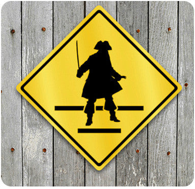 Pirate Crossing Sign
