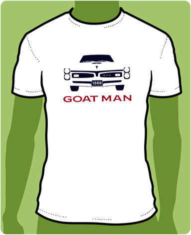 1966 Goat Man Silhouette