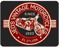 Vintage Motorcycle Personalized - Jed's Vintage Motorcycles