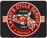 Vintage Motorcycle Personalized - Larry's Cycle Service