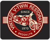 Vintage Motorcycle Personalized - V-Twin Restoration