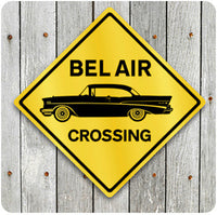 Bel Air Crossing Sign