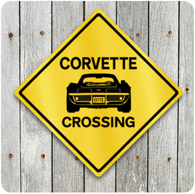 Corvette Crossing Sign