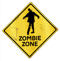 Zombie Zone Caution - Design