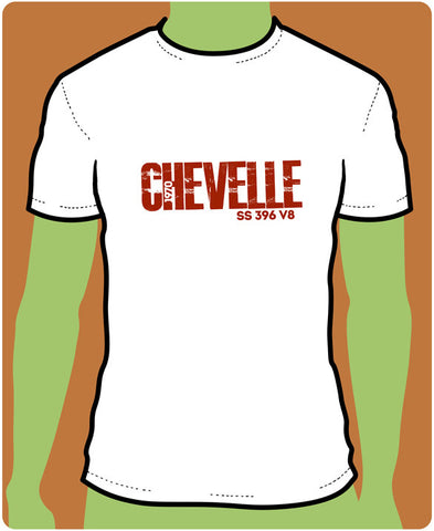 BOLD GRAPHIC Tees - Chevy Chevelle
