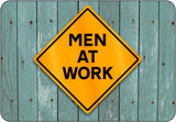 Men At Work Caution Sign - Orange