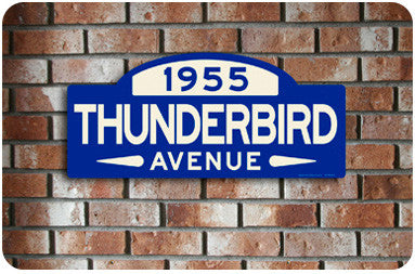Thunderbird Street Sign