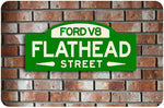 Ford Flathead Street Sign