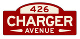 Charger Street Sign - Design