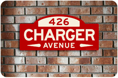 Charger Street Sign