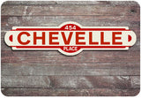Chevelle Street Sign