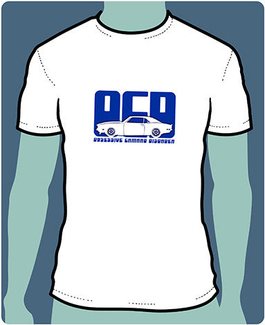 OCD - Obsessive Camaro Disorder Silhouette T-Shirts