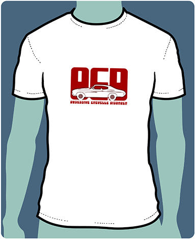 OCD - Obsessive Chevelle Disorder Silhouette T-Shirts