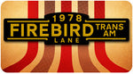 Firebird Trans Am Street Sign