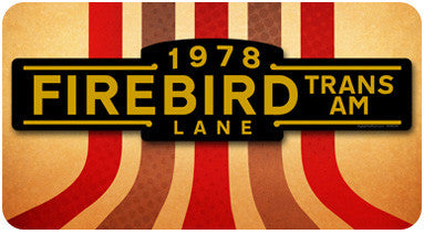Firebird Street Sign