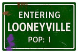 Looneyville Road Sign - Design