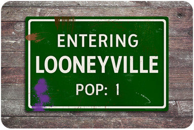 Looneyville Road Sign