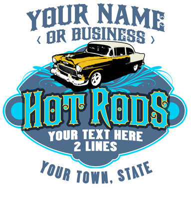 HOT ROD SHOP Design