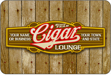 Personalized Cigar Band #3 Sign