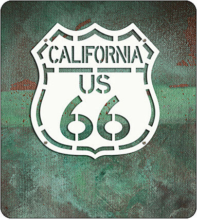 Route 66 Highway Sign - California