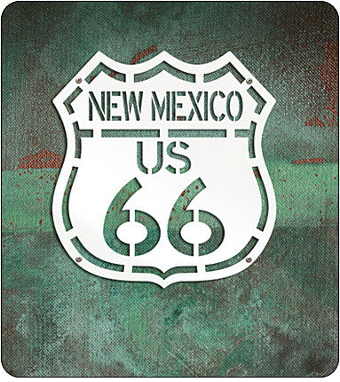 Route 66 Highway Sign - New Mexico