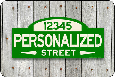 PERSONALIZED Street Sign #1