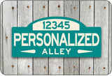Personalized Street Sign #1 - optional color