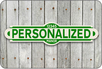 Personalized Street Sign #2 - green